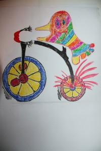 soseta pe bicicleta